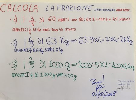 Compiti autentici di matematica e scienze della classe IIC della S.S.I.G.