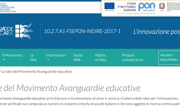 "Le idee innovative del ""Movimento Avanguardie Educative"""