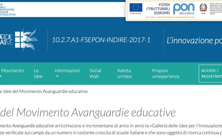 "Le idee innovative del ""Movimento Avanguardie Educative"""
